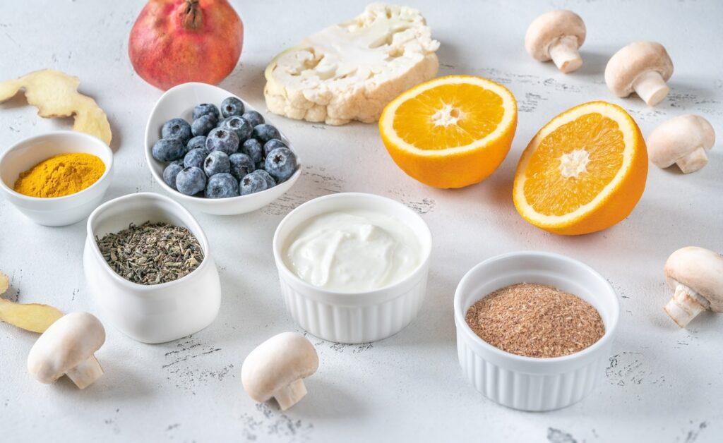 Food boosting immune system
